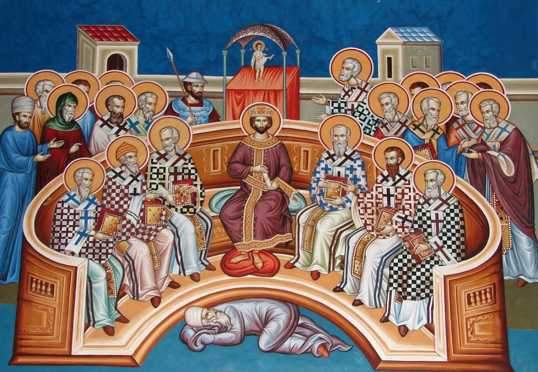 7-ая неделя по Пасхе. Память святых отцов Первого Вселенского Собора
