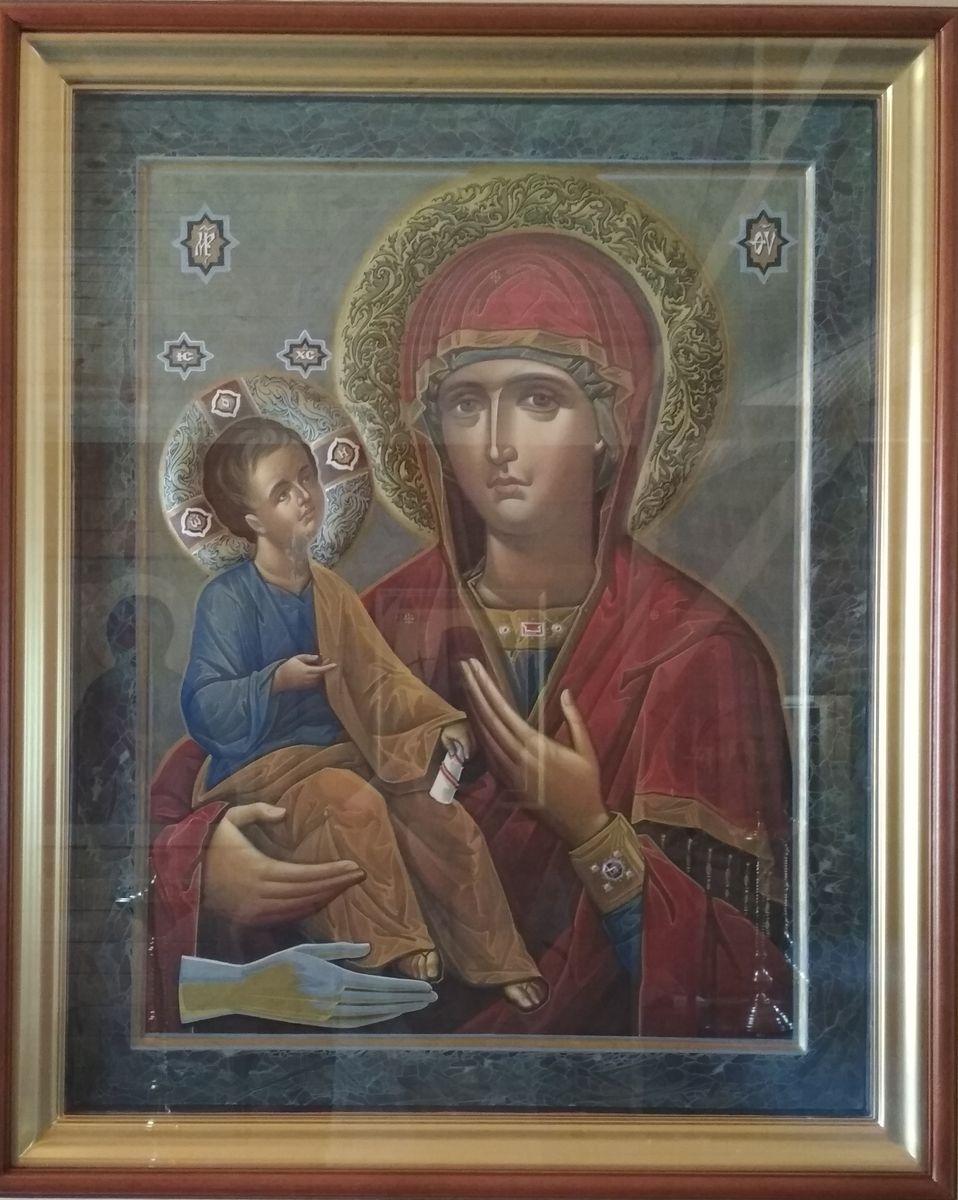 """Неделя 3-я по Пятидесятнице. Икона Божией Матери """"Троеручица"""""""