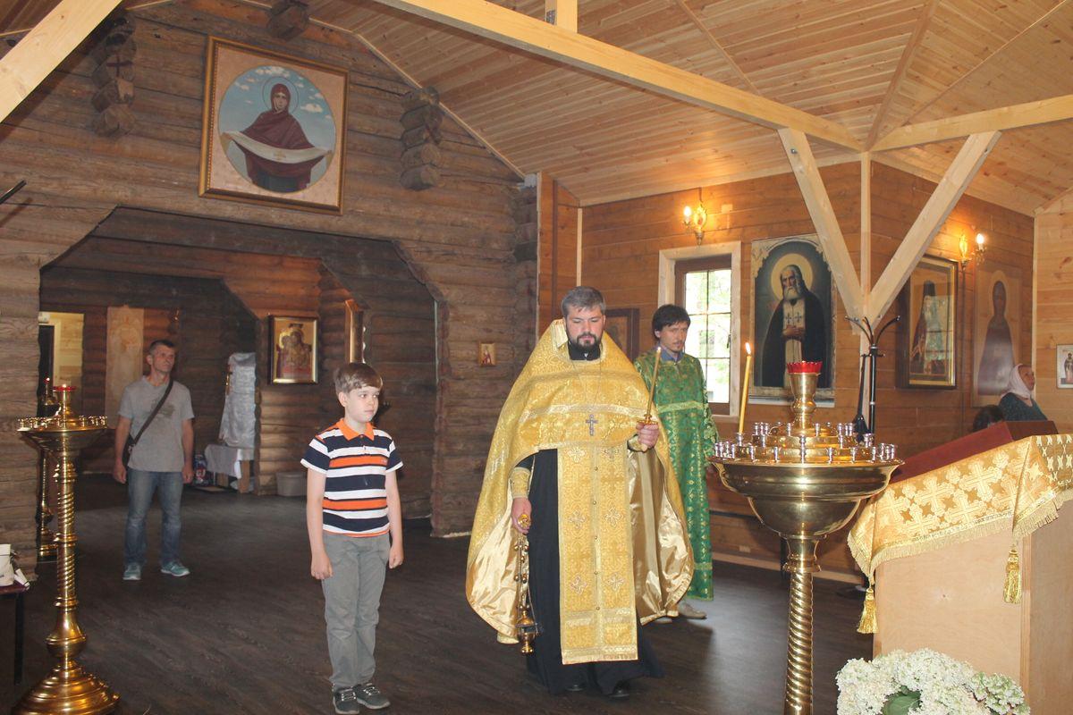 Неделя 2-ая по Пятидесятницы. Собор всех святых в земле Российской просиявших.