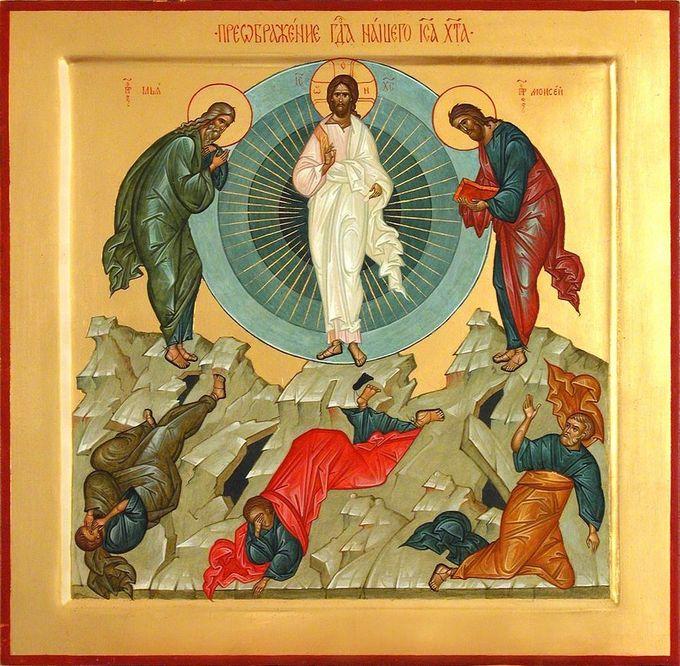 Неделя 9-ая по Пятидесятнице. Преображение Господа Бога и Спаса нашего Иисуса Христа. «Яблочный Спас».